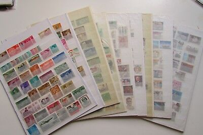 XL3705:  India (1970's – 90's) – Large Selection Stamps. Mostly Different