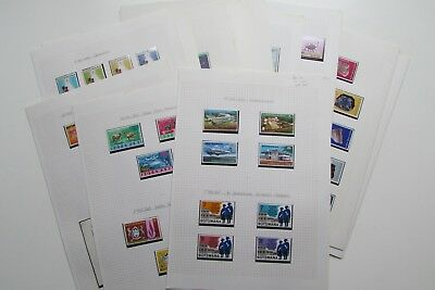 Botswana (1966 – 79): Huge Collection 34x Mint Stamp Sets (All Different)