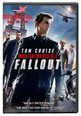 Mission: Impossible Fallout (2018, Dvd) Mi6 Brand New