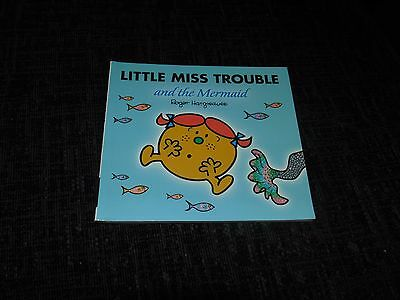 Little Miss Trouble and the Mermaid by Roger Hargreaves (Paperback, 2005)