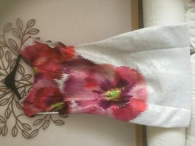 Ted Baker Expressive Pansy Dress Bnwt size Ted 5
