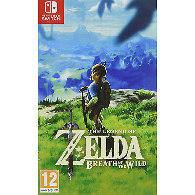 Nintendo The Legend of Zelda: Breath of the Wild Game - Nintendo Switch System
