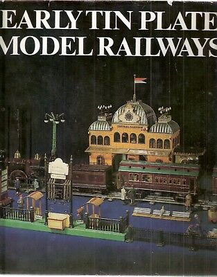 Early Tin Plate Model Railways by Udo Becher 1st edt 1980 pb Argus Books