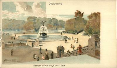 New York City Central Park Bethesda Fountain TUCK #5068 Private Mailing Card