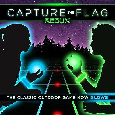 Capture the Flag REDUX a Nighttime Outdoor Game for Youth Groups, Birthday etc