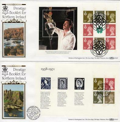 BENHAM D225 ALL 4 N.IRELAND PSB FDC'S 26-7-94 each with DIFFERENT SHS F6