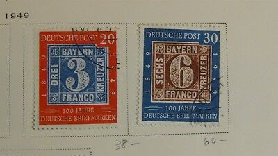 Germany better used stamp collection on Scott pages w/ 72 stamps high SCV $$