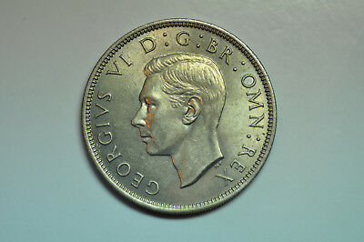mw10646 Great Britain; Florin 1951  George VI 1936-52 KM#878 UNC Krause MS60-$30