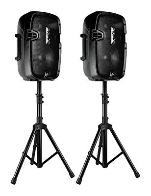 Wireless Portable PA Speaker System - 700W High Powered Bluetooth Compatible Act