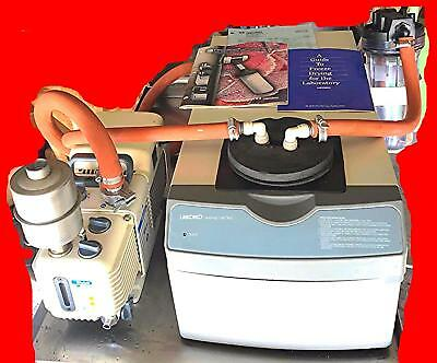 LABCONCO 7811000 CentriVap Freeze Dry WELCH ALLYN 8912A Pump MANUAL WATCH VIDEO