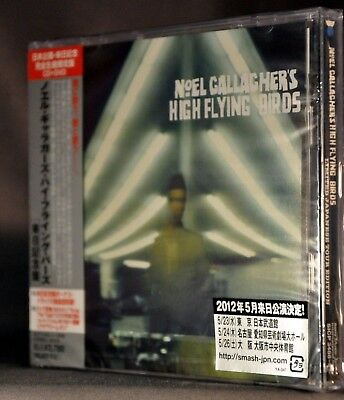 NOEL GALLAGHER'S High Flying Birds +4 BONUS OASIS JAPAN Tour Ed CD+DVD SICP-3488