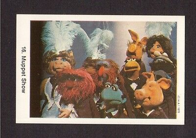 The Muppet Show Jim Henson Vintage 1978 Card from Sweden #16