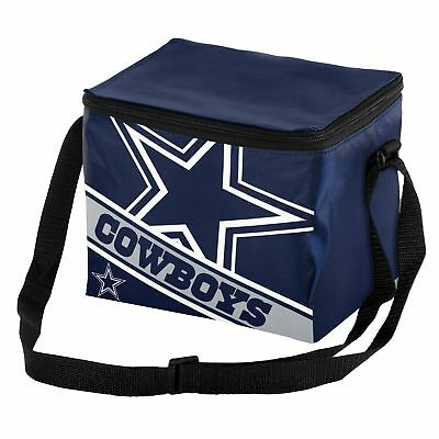 Dallas Cowboys Big Logo Stripe 6 Pack Cooler