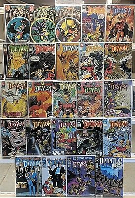 Demon Comics Huge 24 Comic Book Lot Collection Set Books Run Box 1
