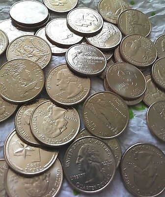 1999-2009 US State Territorial Quarters Complete Uncirculated Set D 56 coins new