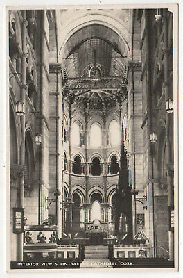 CORK IRELAND RPPC RP Real Photo Postcard SAINT FIN BARRE'S CATHEDRAL Finbar IE