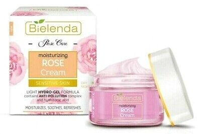 Bielenda Rose Care Moisturising Face Cream for Sensitive Skin Day & Night ,50ml