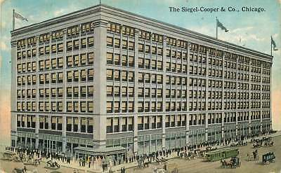 Postcard The Siegel-Cooper & Co. Department Store, Chicago, Illinois - 1916