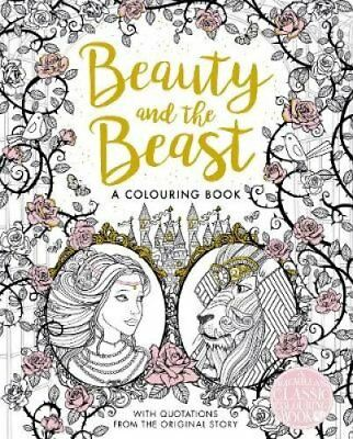The Beauty and the Beast Colouring Book 9781509839360 (Paperback, 2017)