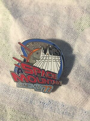 Disney Space Mountain Movable Pin Trading