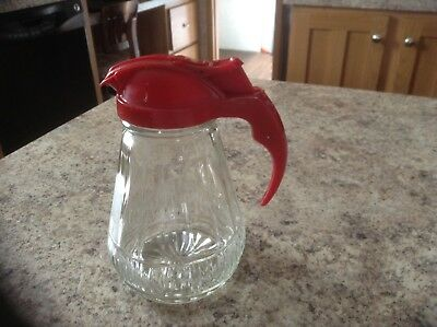 Collectable Glass Syrup Dispenser