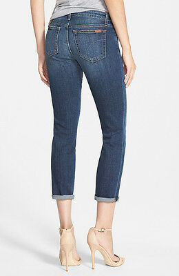 NWT JOE'S Mid-Rise Skinny Rolled Cuffed Crop Jeans in Mary Kate Size 28 JOES NEW