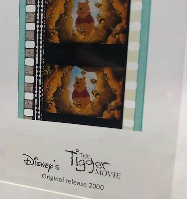 Disney THE TIGGER MOVIE Authentic Animation Film 5-Cells Strip POOH
