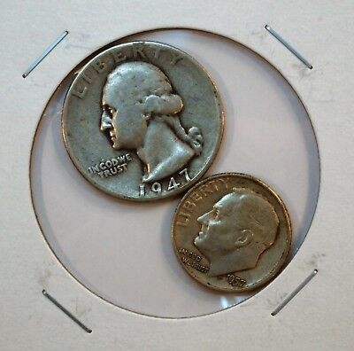 Nice Lot Of 2 United States Coins (Nice Addition To Your Collection).....#13704