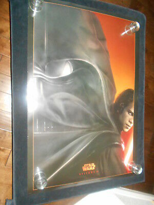 Star Wars Revenge Of The Sith  Original Double Sided Rolled One Sheet   Advance