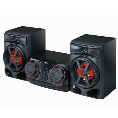 LG Bluetooth CK43 XBOOM 150W + 150W RMS USB Hi-Fi Audio System Speakers Stereo