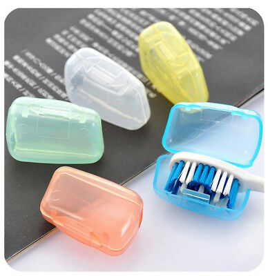 5pcsx Toothbrush Head Cover Case Cap Travel Hike Camping Brush Cleaner Protector