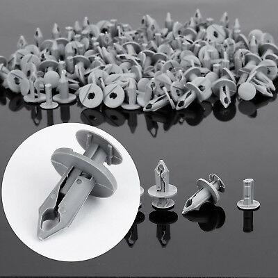 100x Clip rivet Garniture Panneau fixation attache Pour VW Transporter T4 T5