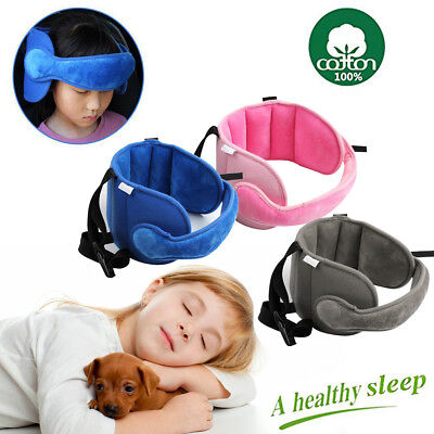 Child Baby Head Support Stroller Buggy Pram Car Seat Belt Sleep Safety Strap