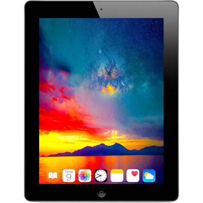 "Apple 16GB iPad 4th Gen with 9.7 "" Retina Display Wi-Fi (Black) - MD510LL/A"