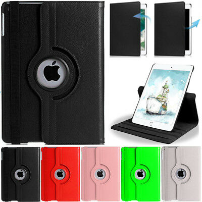 """360° Rotating Smart Case PU Leather Cover Fr Apple iPad 9.7"""" 2018 6th Generation"""