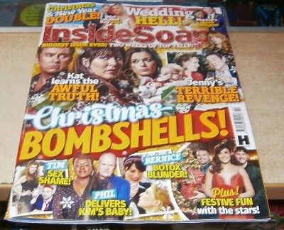 Inside Soap magazine 22nd Dec 2018-4th Jan 2019 Christmas & New Year DoubleIssue