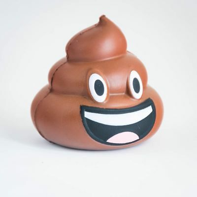 Poo Emoji Stress Ball Anger Management Relaxation Device Squashy Poop