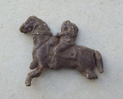 Dug Nice Pewter Toy Horse 1600's/ 1700's Detecting Find