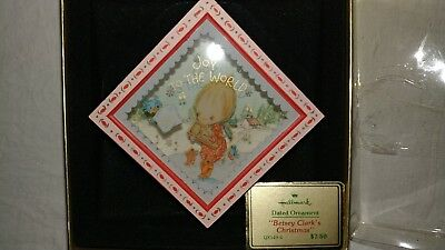 Betsy Clark Christmas Ornament Joy To The World Dated 1980 QX149-4 Vintage
