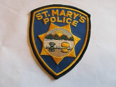 Ohio St Mary's Police Patch