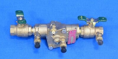Watts 009 Series Reduced Pressure Zone Backflow Preventer ¾ LF009M3-QT Lead Free