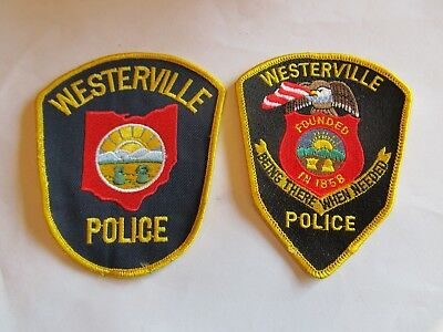 Ohio Westerville Police Patch Set