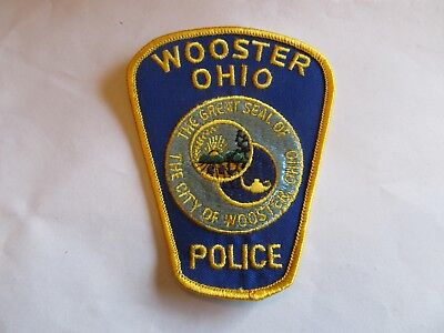 Ohio Wooster Police Patch