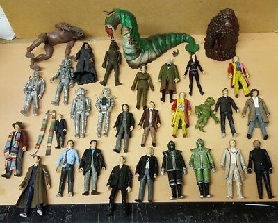 Large Collection Of Bbc Doctor Who Dr. Toy Figures Classic Aliens Master