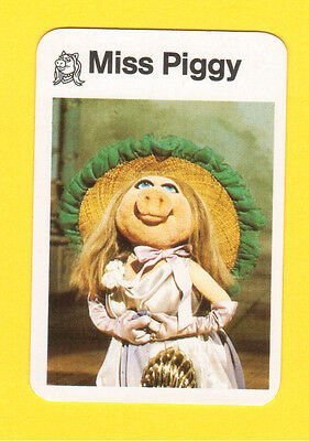 The Muppet Show Jim Henson 1978 German Card Miss Piggy A