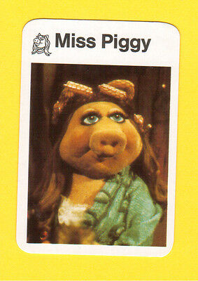 The Muppet Show Jim Henson 1978 German Card Miss Piggy B