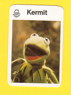 The Muppet Show Jim Henson 1978 German Card Kermit the Frog A