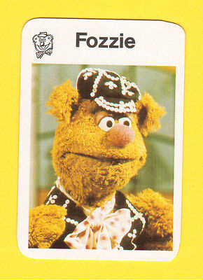 The Muppet Show Jim Henson 1978 German Card Fozzie Bear B