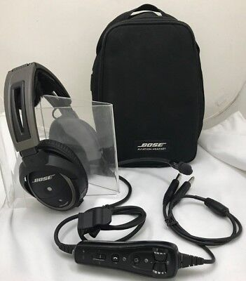 Bose A20 General Aviation Electronic Noise Cancelling Headset With Case - 11-2F