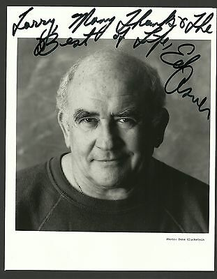 Ed Asner The Mary Tyler Moore Show Film TV Star Hand Signed Autographed Photo